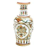 Hand Painted Decorative Marble Flower Pot