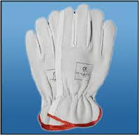 Chrome Leather Driving Glove