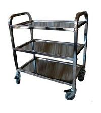 Stainless Steel Medical Trolley Cart
