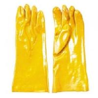 Supported Pvc  Hand Gloves