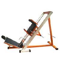 Hack Squat Cum Leg Press Exercise Machine