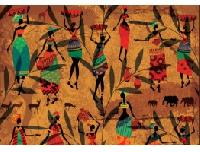 African Decoupage Paper