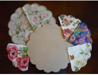 Mdf Scallop Placemat