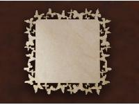 MDF Square Cut Work Placemat