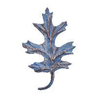 Blue Leaf key holder