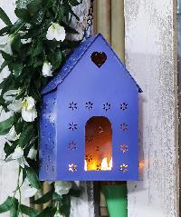 Purple Bird House