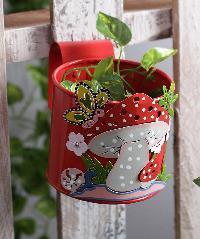 Red Mushroom Planter