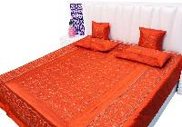 Embroidery Design Silk Bed Sheets