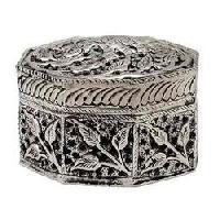 Small Metal Jewelry Box