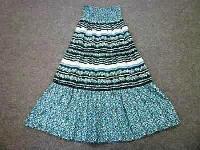 Girls Long Woven Skirt