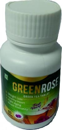 Greenrose Herbal Tea Tablets (60 Tablets)