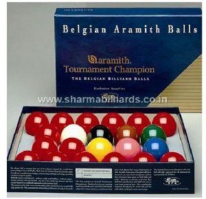 Billiard Balls Aramith Tournament Champion Pro Cup