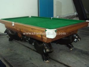 Pool Table Lion Foot