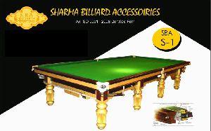 Snooker Table S1 Amateur