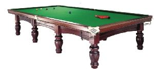 Snooker Table With Slates And Steel Block Cushions