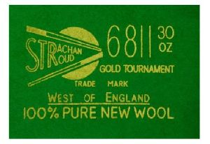 Strachan 6811 30 OZ Tournament Snooker Table Cloth