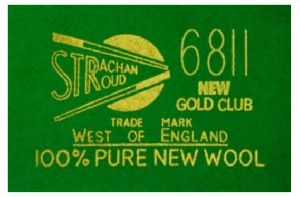 Strachan 6811 Club Snooker Table Cloth