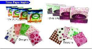 2 Ply Colorful Paper Napkins