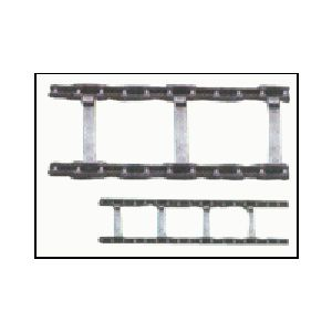 CONVEYOR CHAIN FOR ROAD CONSTRUCTION