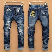 Designer Narrow Bottom Jeans