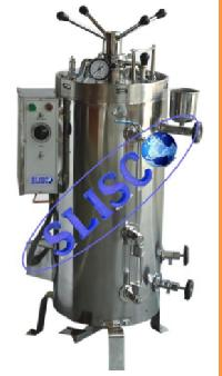 Triple Wall Vertical Autoclave