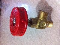 F Type Brass Gas Valve