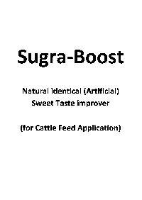 Sugra Boost Sweetener