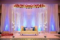 Crystal Wedding Stage