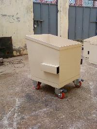 All types of Mild steel fabricated trolleys.
