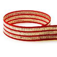 Fancy Woven Stripe Ribbon