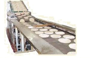 Conveyor Type Chapati Making Machine