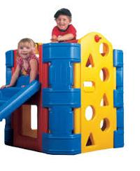 Outdoor Plastic Playground Equipment