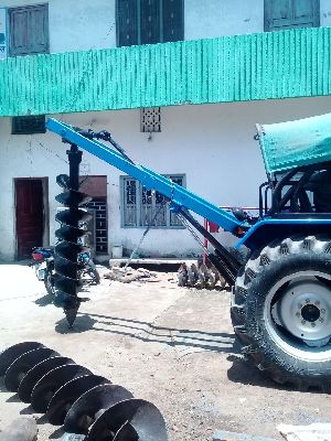 Tractor Post Hole Digger Attachment