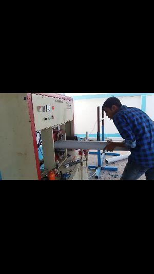 Swr Pipe Socketing Machine