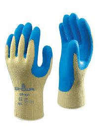 Latex Crinkle Coated Gloves