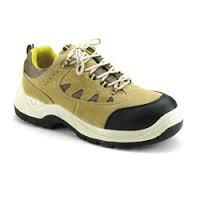 Sports C  Double Density Leather Safety Shoes