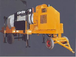Mobile Hot Mix Plant With Auto Jet Burner