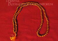 5 Mukhi Rudraksha Mala pure