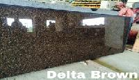Granite Slabs -Delta Brown
