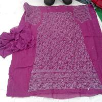 Embroidered Chikan Salwar Suits