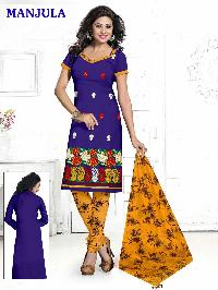 Dress Material with work