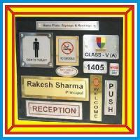 Aluminium Office Name Plates