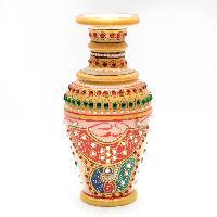 Kamakshi Marble Flower Vase