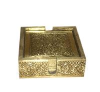Brass Tea Coasters