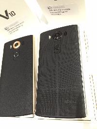 Unlocked LG V10 64GB LTE Dual SIM black mobile phones