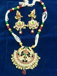 Jadtar Necklace Set
