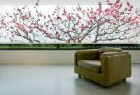 Printed roller fabric blind