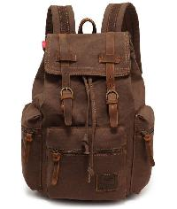leather trekking bags