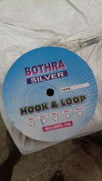 Bothra Silver Hook & Loop Grip