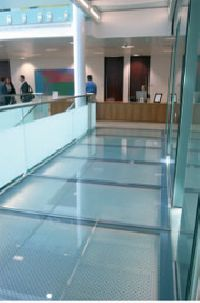 Liteflam Fire-rated Glass Flooring System